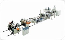 Thick sheet thermoforming machine/plastic sheet laminating extruder machine/pe plastic film production line