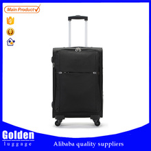 2015 FASHION WASHER FINISH NYLON SUITCASE TROLLEY CASE