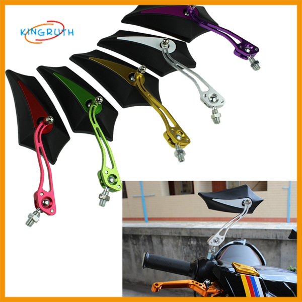 motorcycle rearview mirror CNC Metal Rearview
