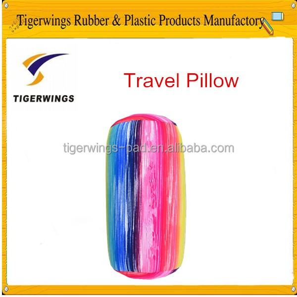 Tigerwingspad digital printed cylinder microbeads travel neck pillow