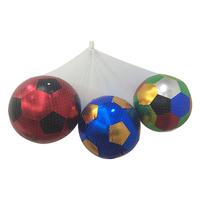 60 cm giant fabric cloth Kids colorful soft soccer ball with plastic net