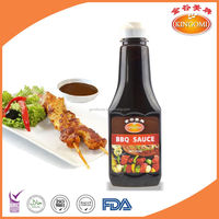 Hot-Sale BBQ Sauce Squeeze Bottle 370g for Barbeque Cooking