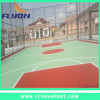 tennis court and basketball flooring