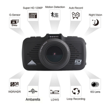 170 degree factroy direct sale manual hd 1080p Ambarella car camera dvr video recorder