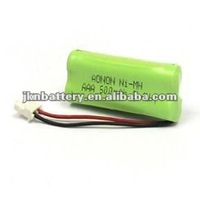 500mAh 2.4V AAA Ni-MH Battery Rechargeable battery pack