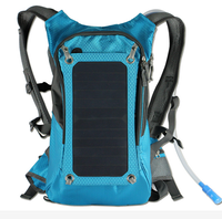 2016 Nylon Solar Water Backpack Solar Panel Charger Backpack bag