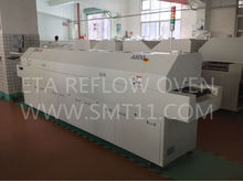 Reflow Oven A800 PLC Control 8 Heating Zone Lead Free Reflow Soldering Equipment