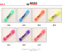 Fluorescent Cute Cartoon Creative Candy Color Pencil Key Marker Students Stationery Mark Pen