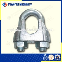 US Type Malleable Clip Tool Steel Wire Metal Rope Clamp Manufacture