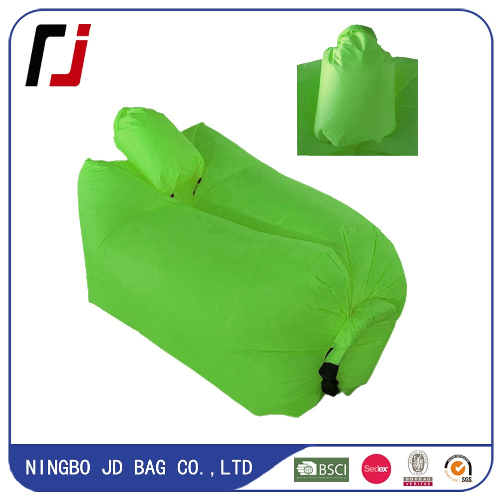 2016 Hottest Sleeping Bag Laybag inflatable sofa with Pockets Securing Loop Stake Bottle Opener
