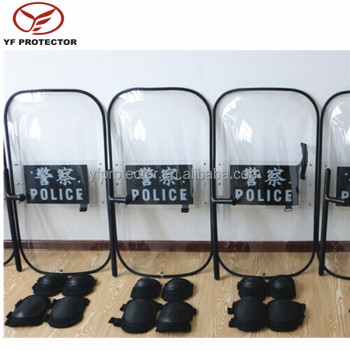 Military Anti Riot Protective Shield With Rubber Edge/Anti Riot Protective Shield price