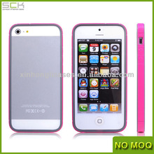 New Product Colorful TPU Bumper Case Cover Skin for iPhone 5 5g 5s