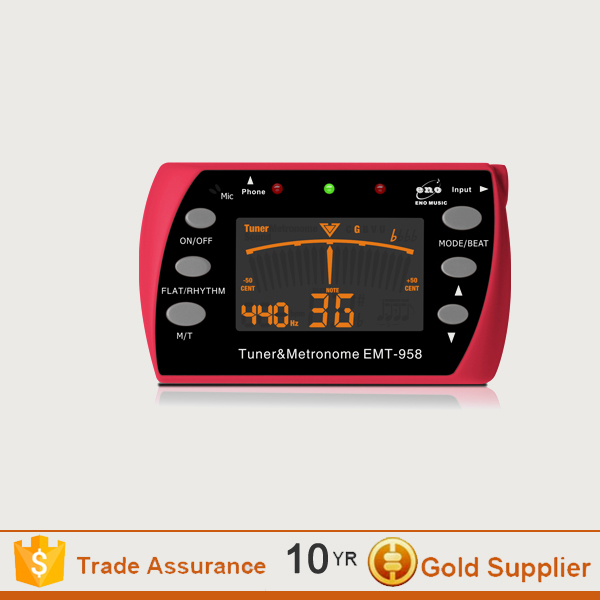 Guitar accessories /tuner/guitar tuner with LCD dispaly