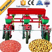 3-row manual corn planter/ hand corn seeder for sale