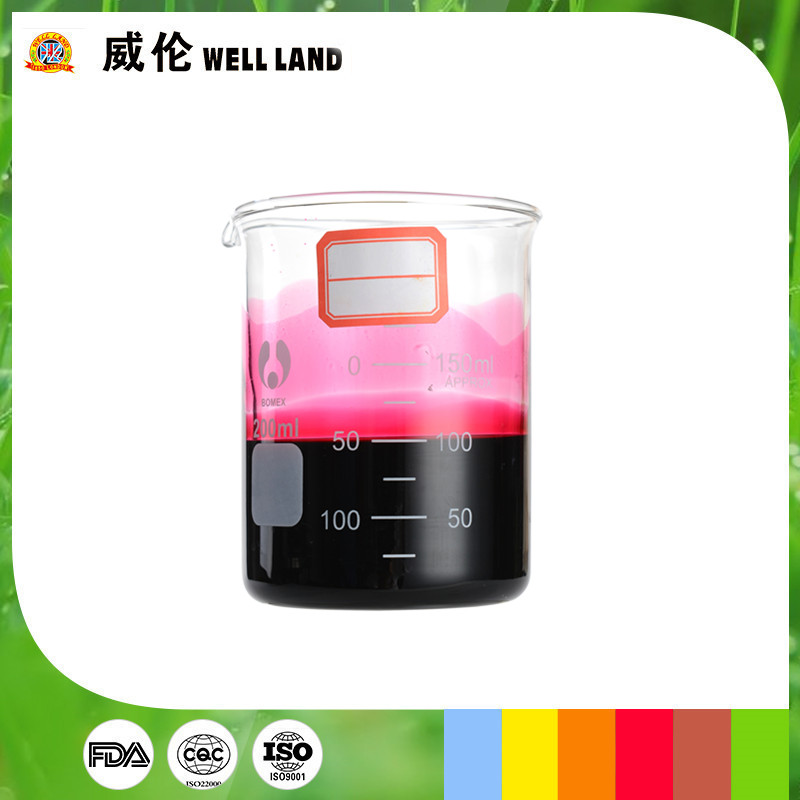 Food additives compound peach pink food dyes