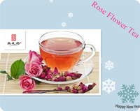 Herbal dried Rose flower tea