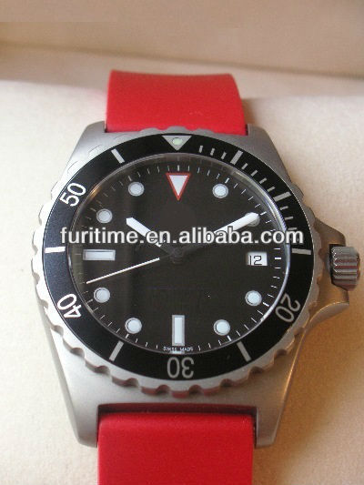 2013 new popular silicone rubber wristband watch