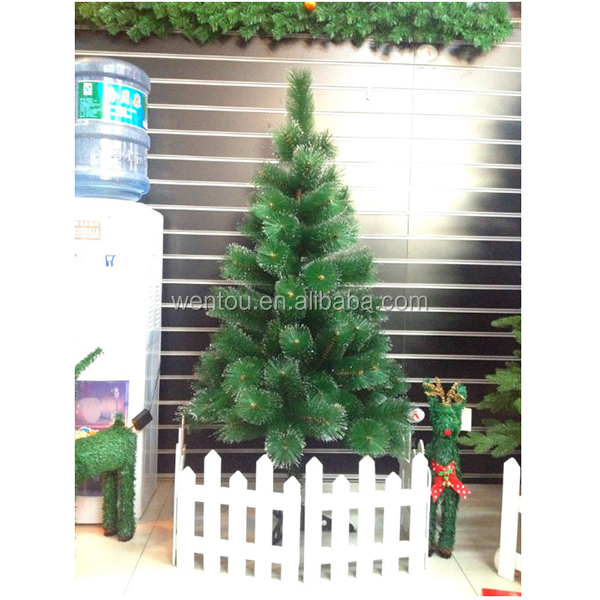 Hot Sales Plastic Corrugated Christmas Tree Yard PVC Garden Stake