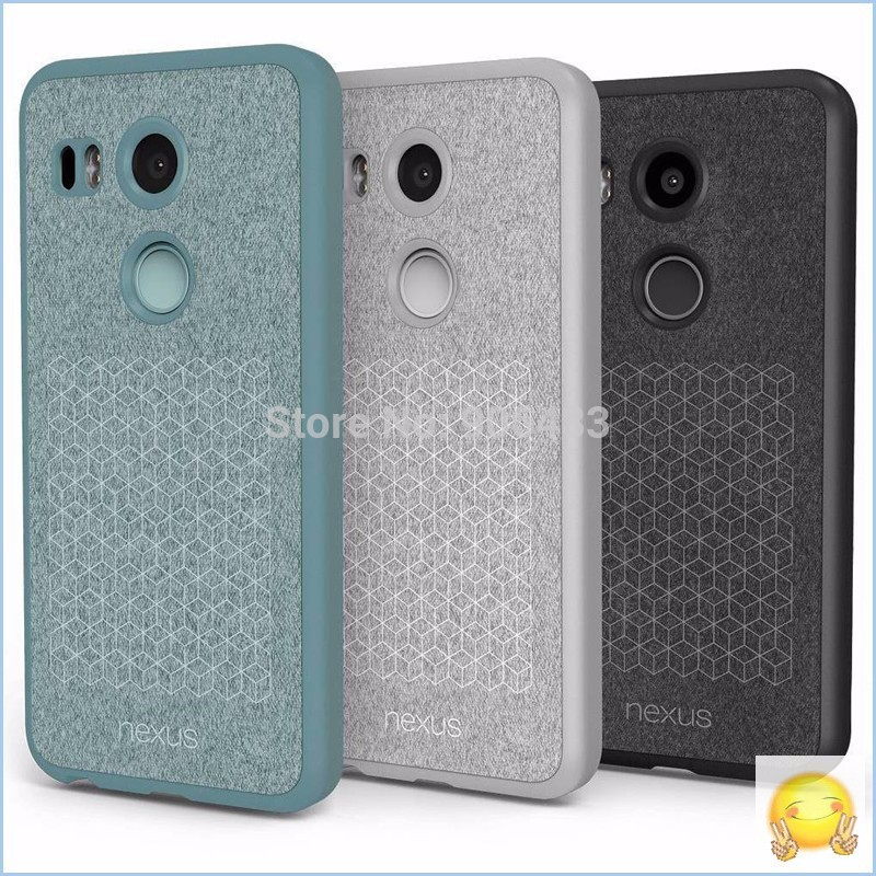 Original Design For LG Nexus 5X 6P Leather Cover Official Back Cover For LG Google Nexus 5X TPU+Leather Case With Smart Function