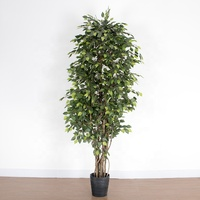 plastic ficus tree small mini artificial ficus trees