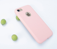 Popular Style Shockproof Liquid Silicone+Pc Soft Touch Cover For Iphone 6 7 8