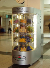 2015Fresh flower vending machine with lift