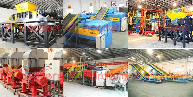 China Manufacturer Metal scraps shredder machine