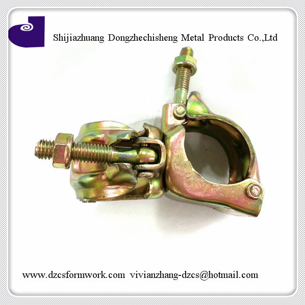 steel galvanized scaffolds swivel beam clamps