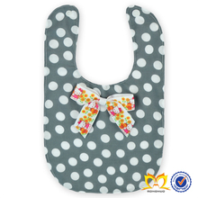 2015 Customed Bandana Baby Bibs Grey, White Silicone Baby Bib With Bow Funny Adult Bibs