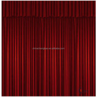 China motorized blackout fireproof used stage curtains for sale