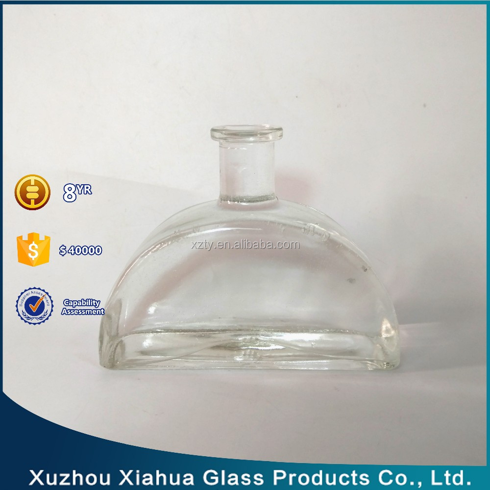 250ml arch shape reed aroma diffuser glass bottle