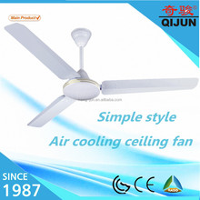 Aluminum blades for 56 inch simple style ceiling fan low watts in ghana
