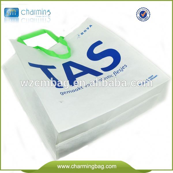 Best selling high quality top fashion recycled book bag non woven bag