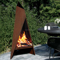 Outoor Decoration Corten Steel Fire Pit