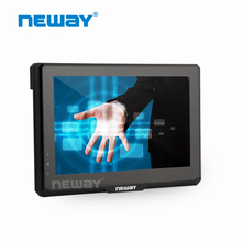 Capacitive touch panel 7 inch 400cd/m2 AV input tft lcd camera monitor