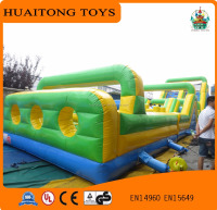 2016 Selling Like Hotcakes Popular Game Inflatable Obstacle Art Bounce House, Obstacle Course Training