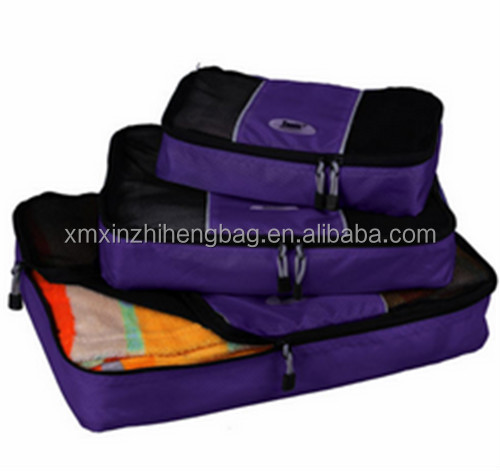 Luggage Packing Cubes - Set Of 3 Travel Set