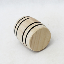 Small Wine Barrel crafted from pine wood