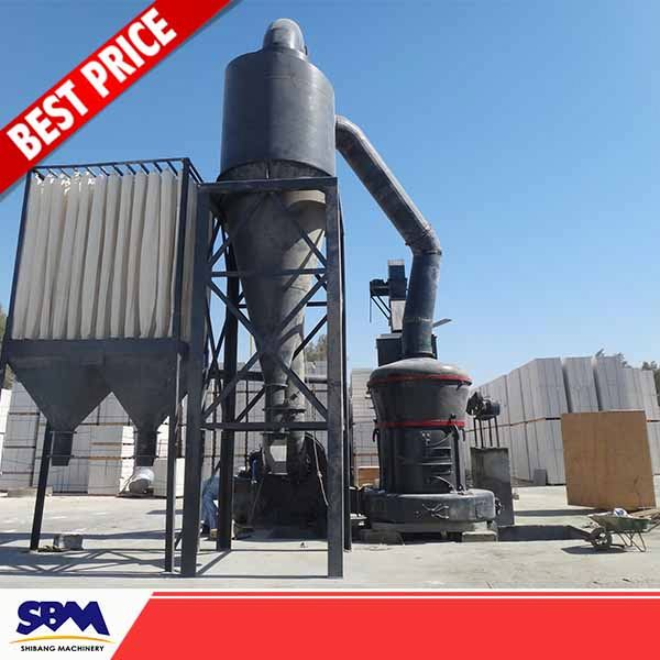 Middle east gypsum powder making machine, lime grinding plant