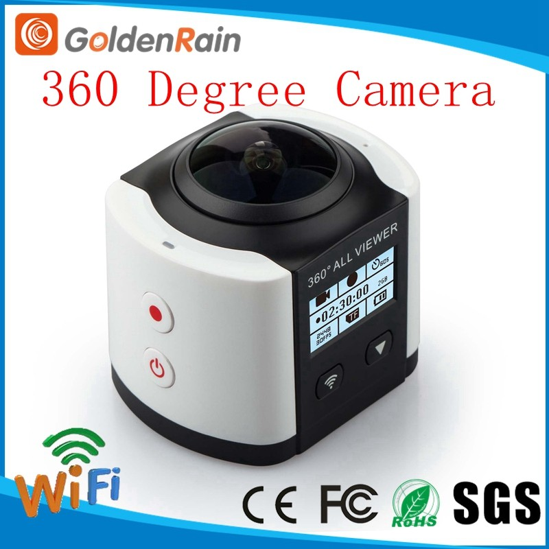 2016 New Wifi Panorama xdv 4K 360 degree Action Camera