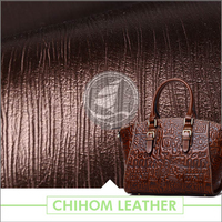 New fashionable PU for Luggage making materia manufacturers
