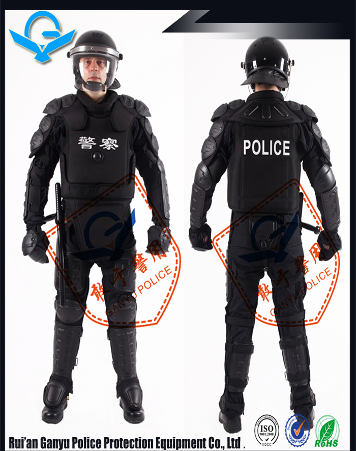 High Impact Resistant Police Uniform Protect Full Body Flexible