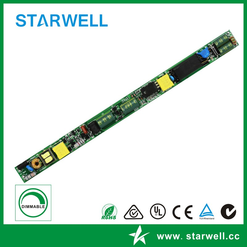 18W PE296 triac dimmable led driver