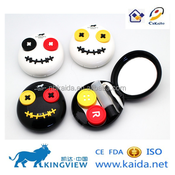 voodoo doll contact lens case EYEKAN CHINA