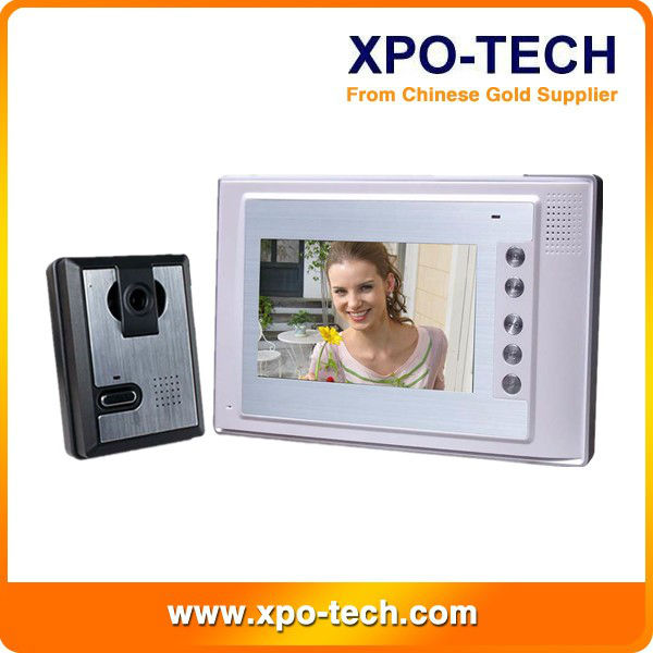 Hot sale 4 wire video door phone