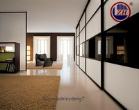 wardrobe sliding doors with frosted glass design,bedroom furniture