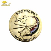 Gold plated tungsten coins Coin Military Coin Manufacturer