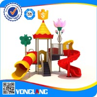 Outdoor middle school playground equipment rubber