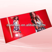 Standing large foamcore promotion printing poster on 5mm PVC board