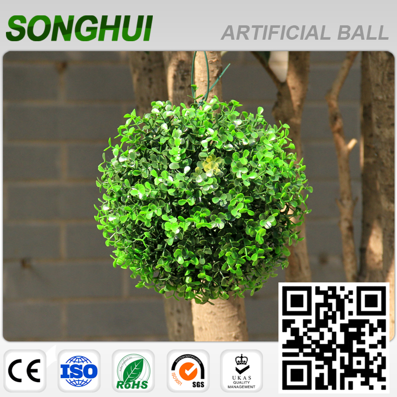 new design colorful artificial topiary hedge balls for weddings